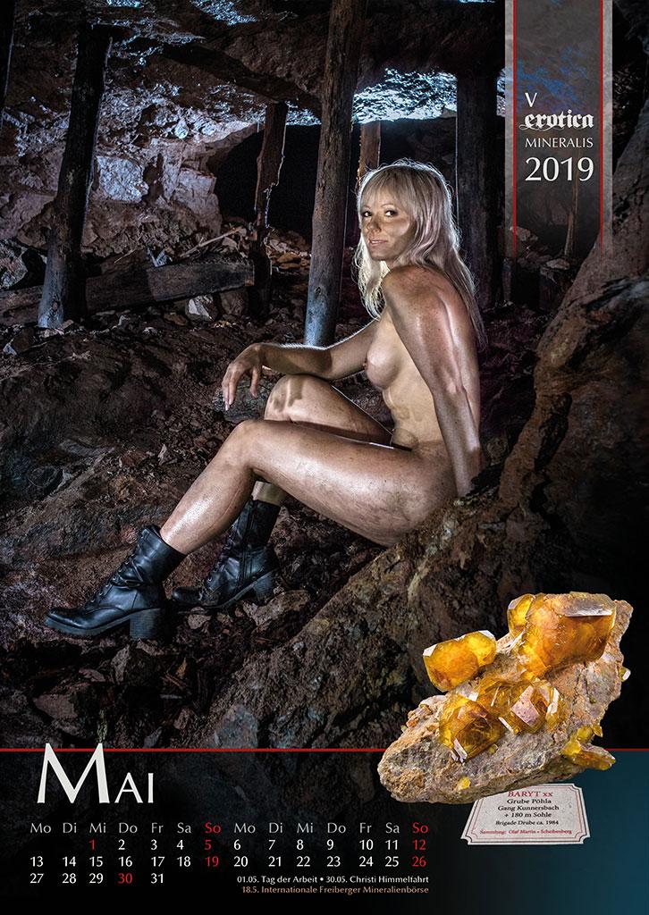 Kalender Erotica-Mineralis 2019