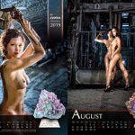 Kalender Erotica Mineralis 2018
